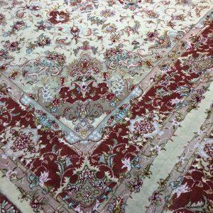 فرش دستبافت جفت شش متری طرح علیا
