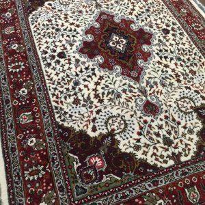 فرش دستبافت قالیچه طرح کرمانقلم