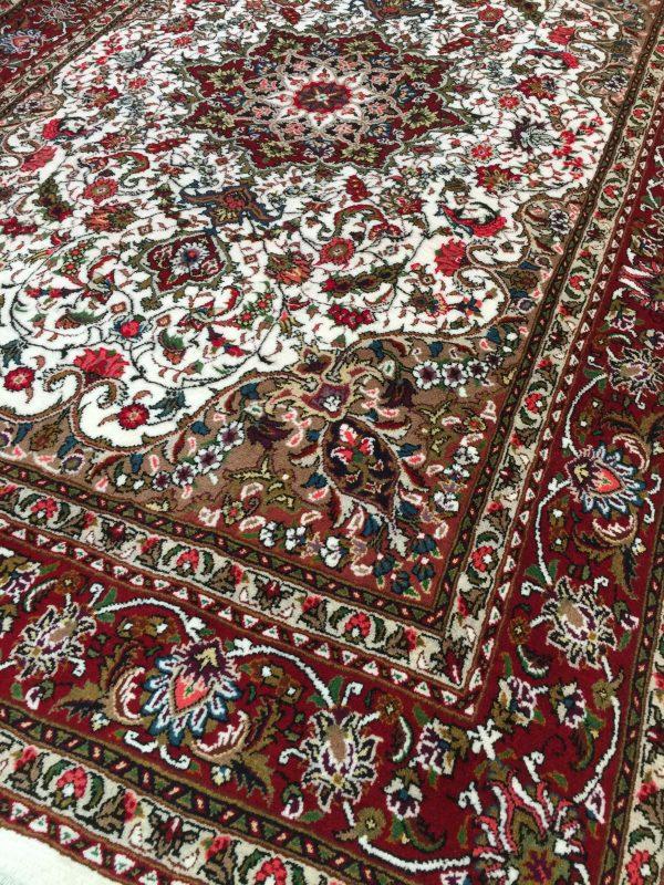 فرش دستباف شش متری تک طرح اصفهان قلم