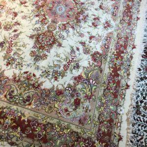 فرش دستباف جفت شش متری طرح خطیبی